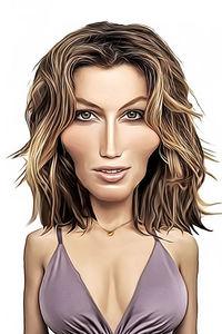 Caricature de Jessica Biel