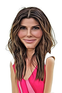 Caricature de Sandra Bullock