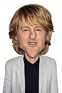 Caricature de Owen Wilson