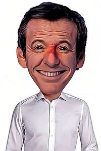 Caricature de Jean-Luc Reichmann