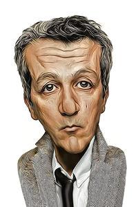 Caricature de Alain Chabat
