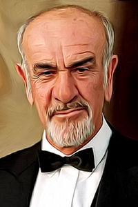 Caricature de Sean Connery