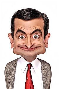 Caricature de Mr Bean